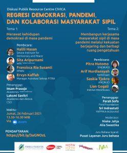 Diskusi demokrasi Civica.id